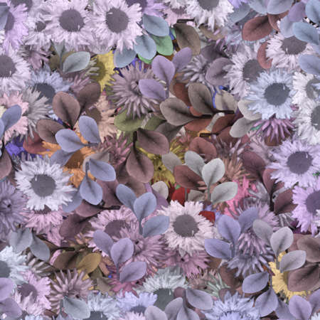 Soft Blooms Vector
