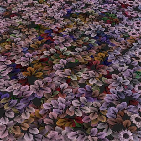 Garden of Blooms Vector