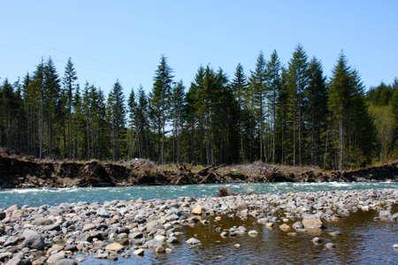 Flowing stream running through the mountains in Washington. Stock Photo - 4898382