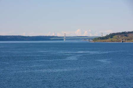 Beautiful bay area around coastal Washington area. Stock Photo - 4898465
