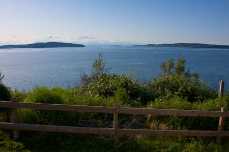 Nice late afternoon scene from a Washington coastal village. Stock Photo - 4898469