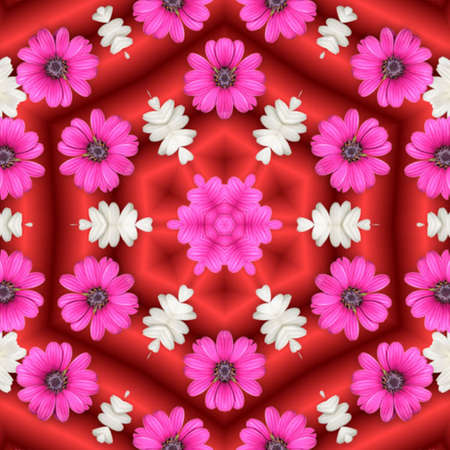 Abstract Floral photo