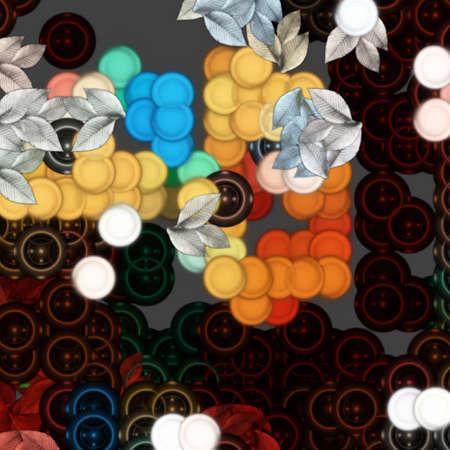 Retro Abstract Pattern photo