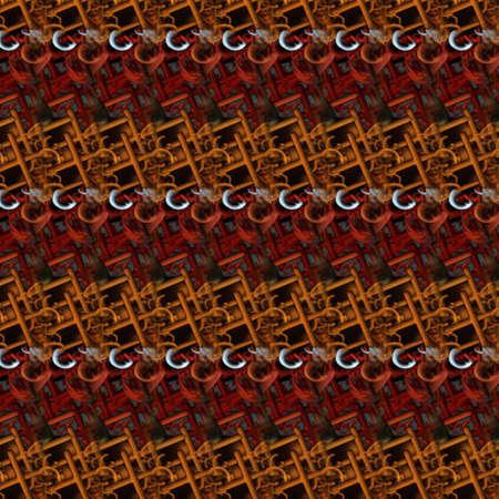 Retro Abstract Pattern Stock Photo - 5052293