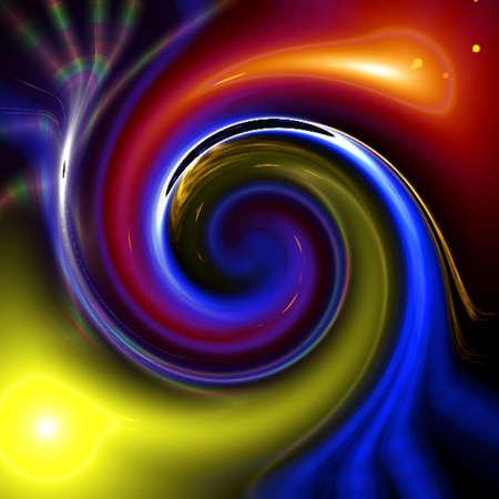 kaleidoscope: Abstract Design Stock Photo