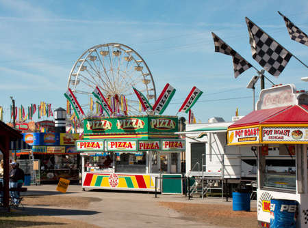 Scene from the Strawberry Festival in Plant City, Florida
