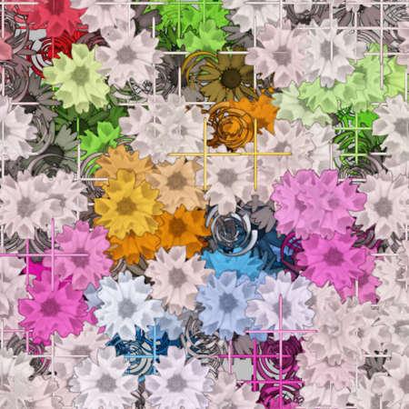 colors: Modern Art Pattern