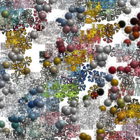 modernistic: Modernistic Art Pattern Stock Photo