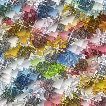 Modernistic Art Pattern photo