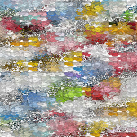 Modern Art Background Pattern