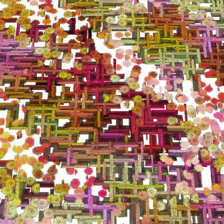 Modern Art Abstract Stock Photo - 8480197