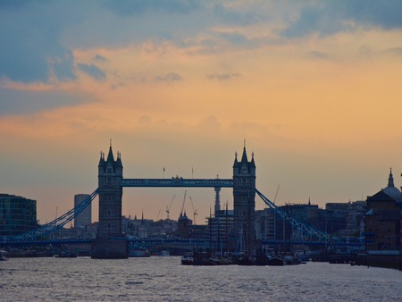 Tower Bridge London at Sunset