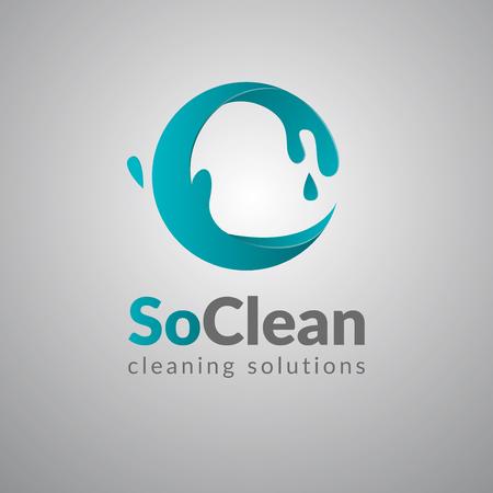 Modelo de design de logotipo de vetor abstrato onda círculo. Ícone do círculo de surf. Logotipo de conceito criativo de estilo futurista de limpeza. Foto de archivo - 46006090