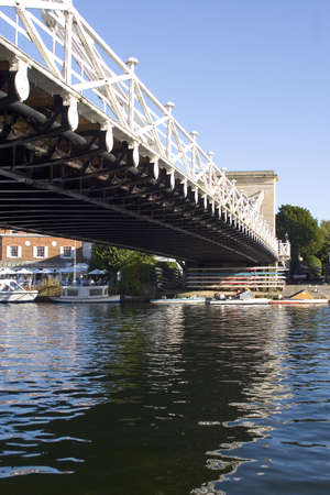 thames: Marlow Bridge over the River Thames, England