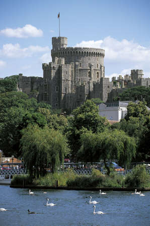 prince charles of england:  The Round Tower, Windsor Castle, England