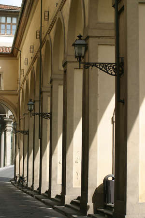 archways: Archways in the streets of Florence