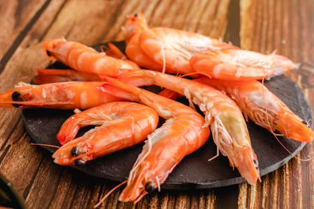Prawns. Langostinos. Delicious seafood from spain