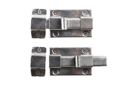 door bolt: isolated lock and unlock metal door bolt