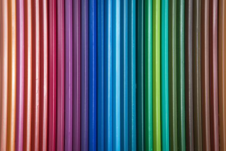 arrange: multiple pencil color arrange as a background