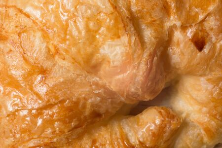 close up er croissant as a background Stock Photo