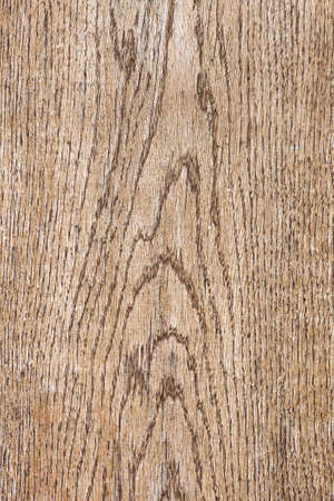 Wood plank texture. Weathered brown wooden board background top view
