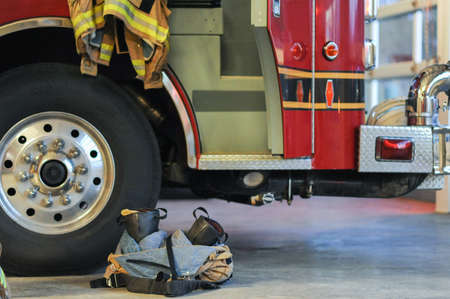 turnout gear: Ready To Serve