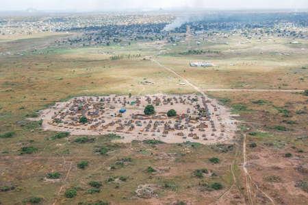 Dorp in Zuid-Soedan