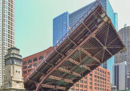 drawbridge: Chicago Drawbridge Opening