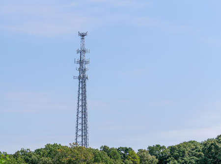Cell Phone Tower Stockfoto