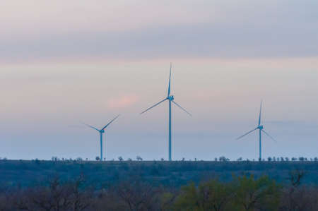 great plains: Wind Turbines on the Great Plains