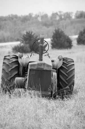 disuse: Abandoned Tractor