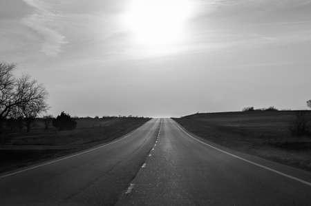 Great Plains Sunset photo