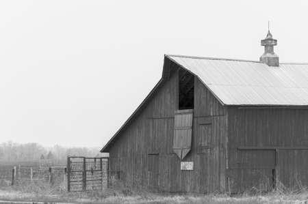 great plains: Old Prairie Barn
