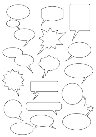 Speech bubbles any forms