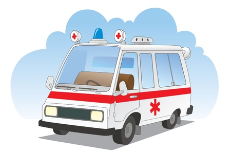facilitation: Ambulance car
