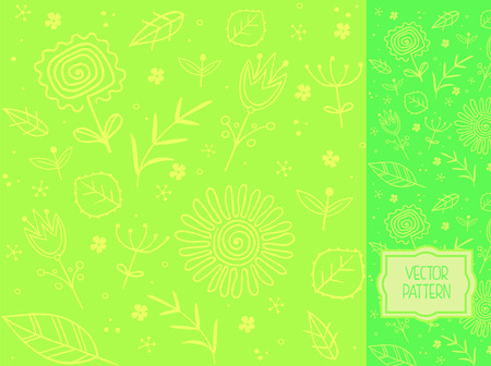 Vector pattern for packaging, advertising, print and websites as a background