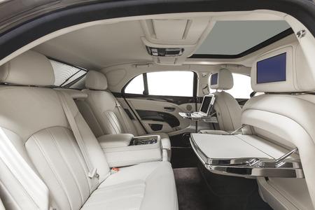 automobile: Car interior. Comfortable modern salon Stock Photo