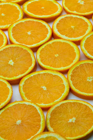 Orange Slice Pattern Background Material