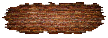 texture of brick wall High quality, isolated on white Imagens