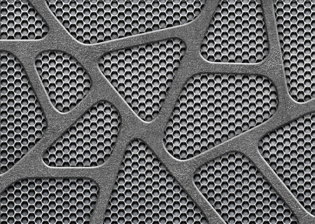 metal mesh, perforated sheet iron, steel template for design