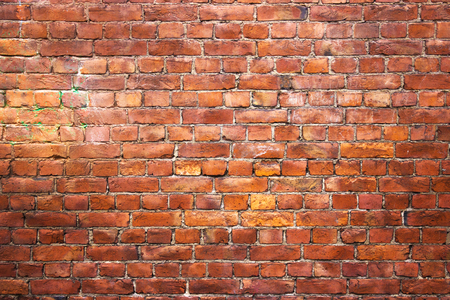 Old brick wall, grunge texture for background, urban style Stock Photo