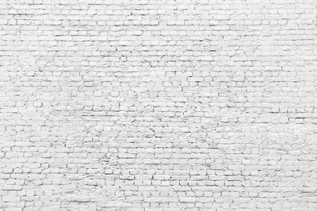 Vecchio muro di mattoni, la superficie bianca dei blocchi di pietra
