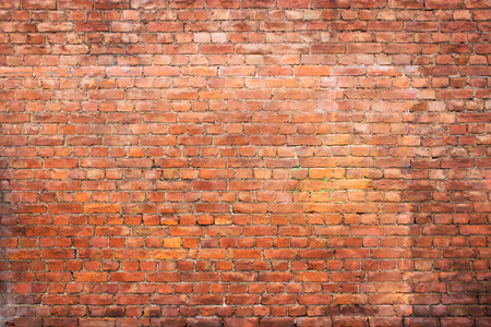 vintage brick wall, urban background, red stone texture