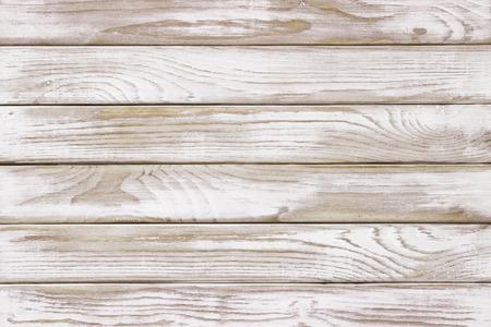 Witte houten paneel achtergrond Klaar voor montage van het product display.