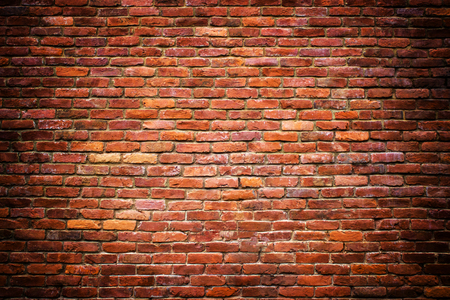 red brick wall texture of the stone blocks