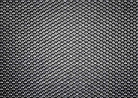 metal mesh, perforated sheet iron, steel template for design, 3d, illustration