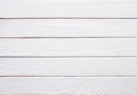white wood floor: Vintage white wood plank as texture and background Stock Photo