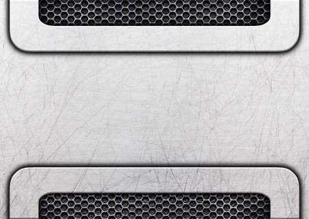 steel plate: Black grunge metal plate or armour texture , 3d, illustration