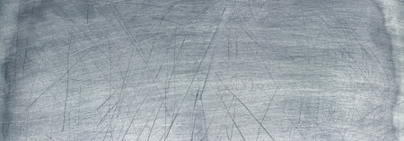 brushed aluminum: Old metal texture, wide sheet of chrome iron background