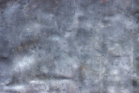brushed aluminum: Crumpled metal texture with scratches and scuffs, stainless steel wallpaper